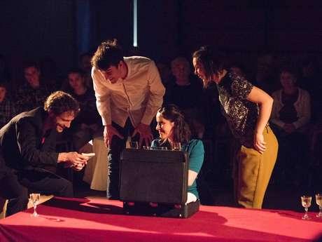 Notre Candide, compagnie 3e acte, théâtre forain