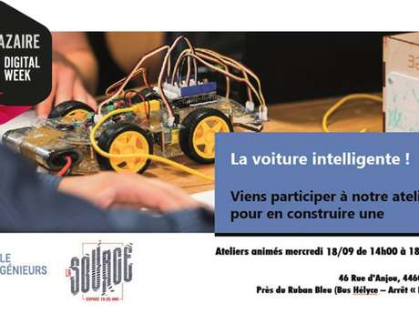La voiture intelligente, initiation programmation robotique