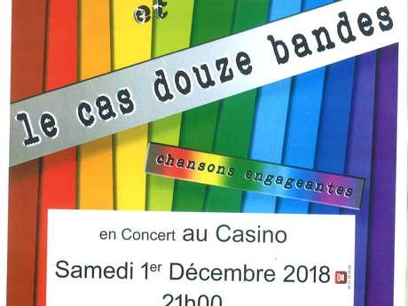 Yves Cadou et le cas douze bandes en concert