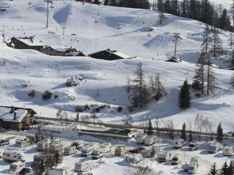 Camping and Winter Caravan Park de Lanslevillard