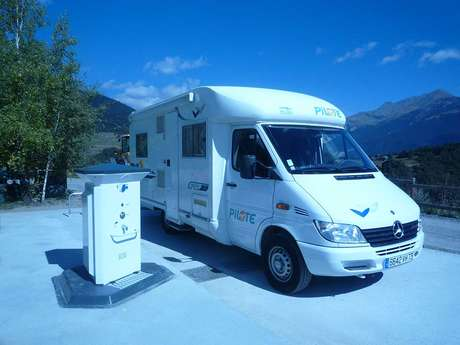 Euro relais - Service area for camper