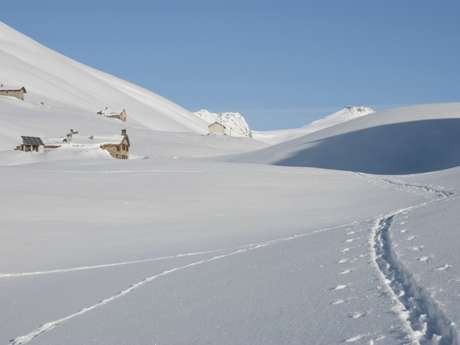 Vallonbrun hiking trail