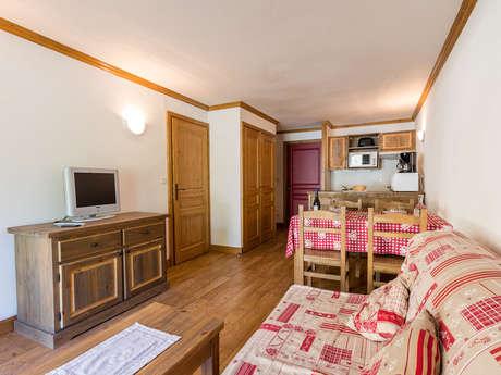 Résidence Le Clos Vanoise - Appartement 2 pièces cabine 6 personnes - CV2