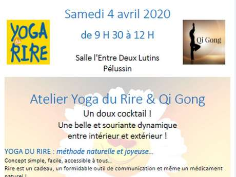 Atelier : Yoga du rire & Qi qong