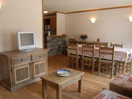 Résidence Le Clos Vanoise - Appartement 5 pièces cabine 8 personnes - CV20
