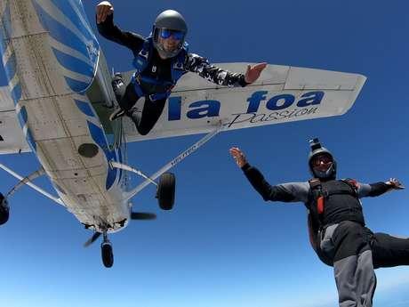 Saut en parachute (confirmés) - Centre école de parachustisme de Nouvelle-Calédonie