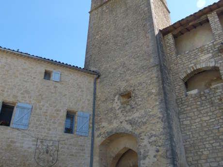 Le Portail et la Tour de l'Horloge