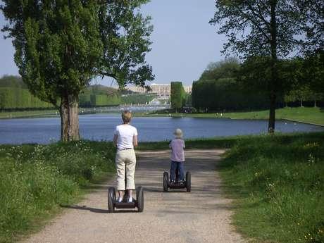 Balade en Segway dans le parc du Château