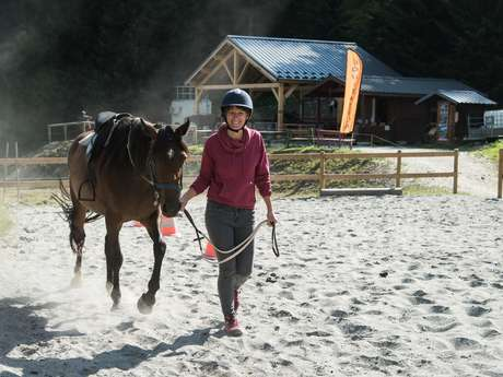 Discovery tour of the equestrian center Haute Maurienne Vanoise