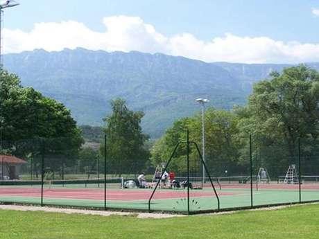 Courts de tennis pontcharra