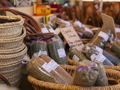 Marché des saveurs des Alpes et artisans sans vitrine