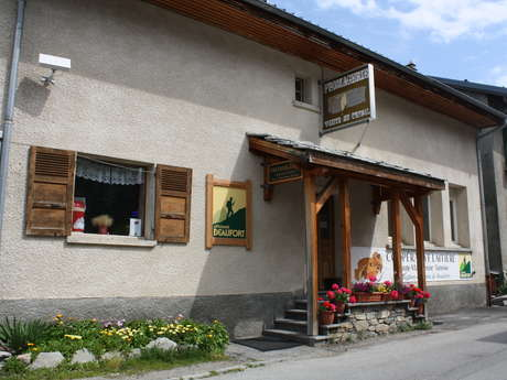 Dairy cheese shop of Bessans