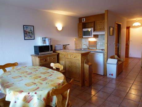 Résidence Les Balcons Des Curtious - Appartement 3 pièces cabine 6 personnes - BB4