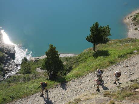 Le Tour du barrage de Plan d'Aval