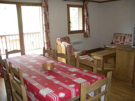 Résidence Le Clos Vanoise - Appartement 4 pièces cabine 8 personnes - CV15