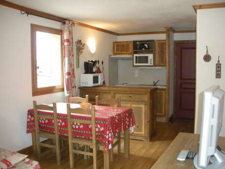 Résidence Le Clos Vanoise - Appartement 2 pièces cabine 6 personnes - CV5