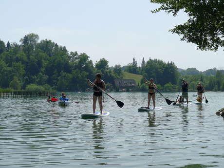 Stand Up Paddle sur le Guiers