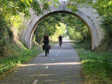 Balade à vélo Apt-Goult