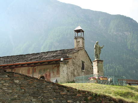 Chapelle and church of Bessans : Guided evening visit