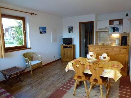 Résidence Les Balcons Des Curtious - Appartement 2 pièces cabine 4 personnes - AIGL4