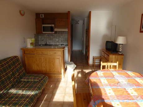 Résidence Les Balcons Des Curtious - Appartement 2 pièces cabine 6 personnes - MA1