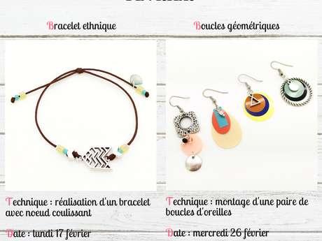 Création de bijoux et d'objets déco