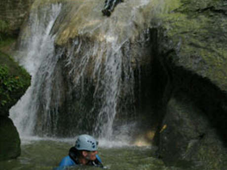 Parcours canyoning