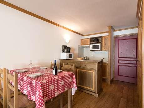 Résidence Le Clos Vanoise - Appartement 2 pièces cabine 6 personnes - CV9