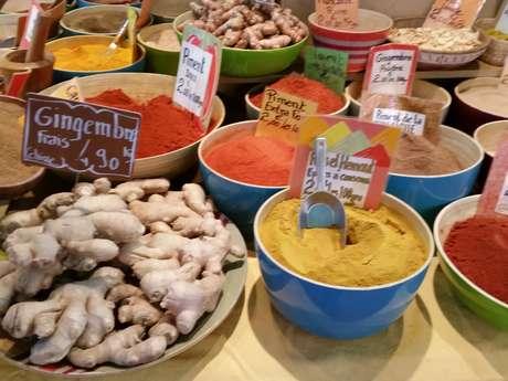 Tour du monde des saveurs au marché de Saint-Denis