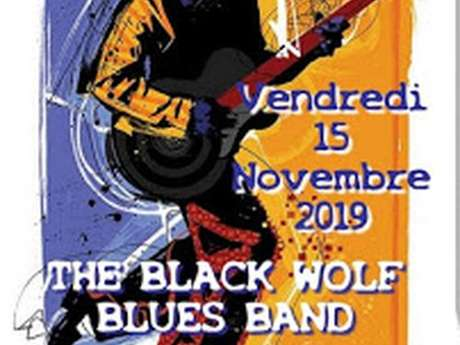 "Concert ""The Black wolf Blues band"" - Hall Blues Club"