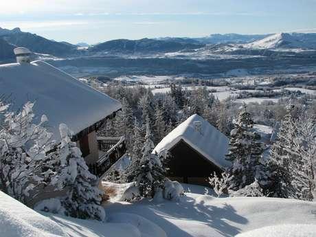 Week-end ski à Chaillol en 1/2 pension