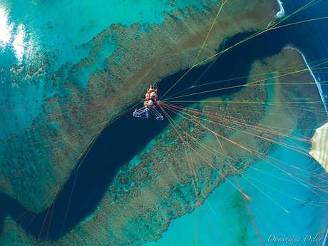 Vol en paramoteur biplace de 45 min - Vertical Lagon