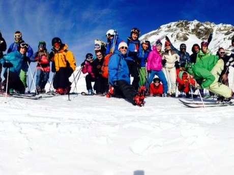 7e rencontre de télémark de Val Cenis La K'Ribou