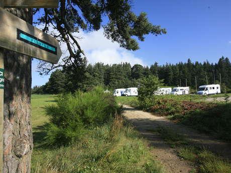 Aire de services et de stationnement camping-car