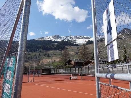 Courts de tennis extérieur - Centre Sportif de Verbier