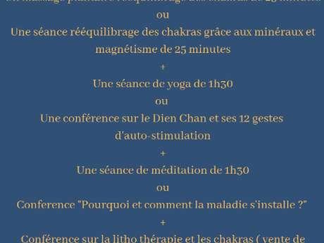 Journée Bien-Etre spéciale chakras