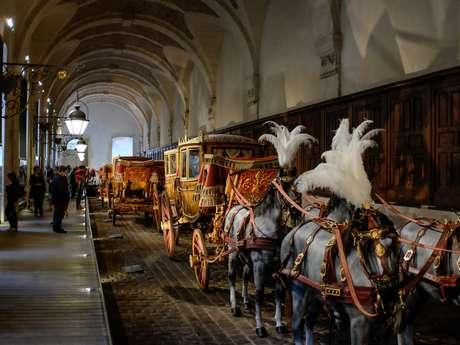 Chevaux et carrosses à Versailles