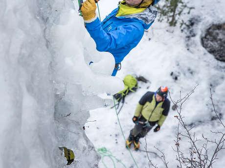 Escalade sur cascade de glace (1h30)