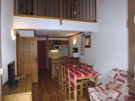 Résidence Le Clos Vanoise - Appartement 3 pièces cabine 8 personnes - CVE13