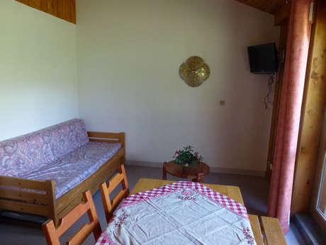 Résidence La Parrachee - Appartement 2 pièces cabine 5 personnes - PARA8