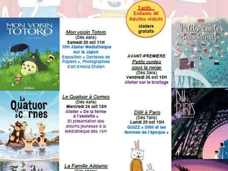 "Les Toiles des mômes ""Mon voisin Totoro"""