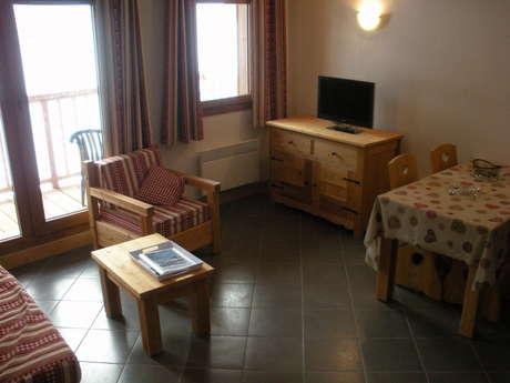 Résidence Le Criterium - Appartement 3 pièces cabine 6 personnes - CRIC05