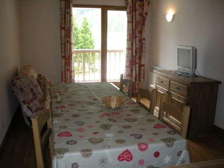 Résidence Le Clos Vanoise - Appartement 4 pièces cabine 8 personnes - CV17