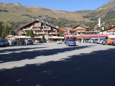 Parkplatz - Ermitage