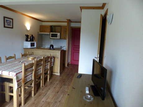 Résidence Le Clos Vanoise - Appartement 3 pièces cabine 8 personnes - CVE15