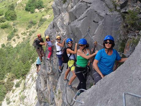 Via ferrata - Bureau des Guides Champsaur Valgaudemar