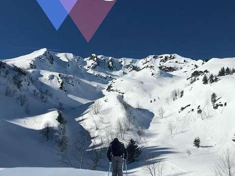 Ski de randonnée avec l'ESF du Collet