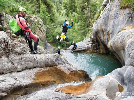 Canyoning - Bureau des Guides Champsaur Valgaudemar