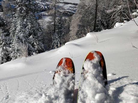 Ski alpin - ESF de St-Léger-les-Mélèzes