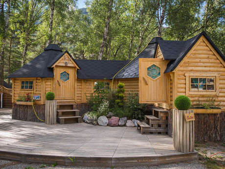 Kotas-refuge of the camping de l'Iscle de Prelles